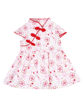 2019 Toddler Girls Baby Clothes Floral Skirt Dress Outfits Set Red 6 12 Months by Zaxarra