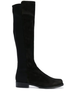Half N Half Knee High Boots by Stuart Weitzman