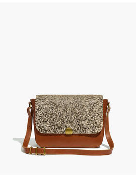 The Abroad Shoulder Bag: Spotted Calf Hair Edition by Madewell