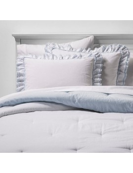 Ruffle Edge Comforter & Sham Set   Simply Shabby Chic® by Shop Collections