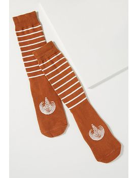Latte Ankle Socks by Anthropologie