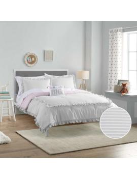 Sonoma Goods For Life™ Kids Ruffle Stripe Bedding Set by Sonoma Goods For Life