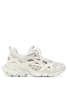 Offene 'track.2' Sneakers by Balenciaga