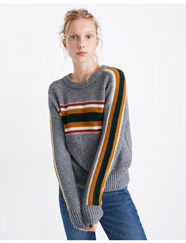 Striped Heath Pullover Sweater by Madewell