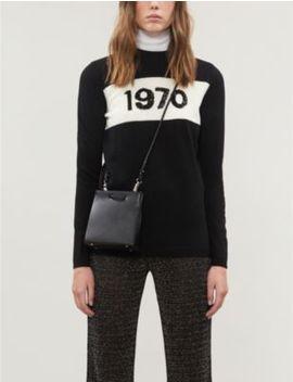 1970 Sequin Embellished Wool Jumper by Bella Freud