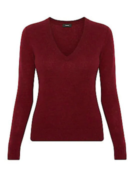 V Neck Cashmere Sweater by Theory