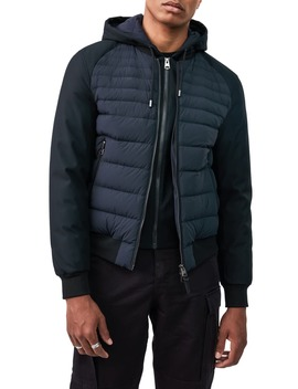 Eryk Down Jacket With Removable Hooded Bib by Mackage
