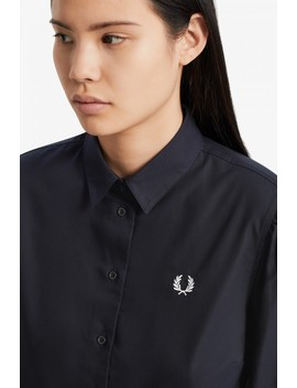 Button Down Shirt Dress by Fred Perry