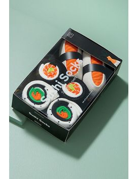 Pack Of 3 Sushi Ankle Socks by Doiy