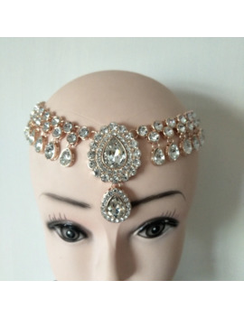 Wedding Bridal Bohemian Boho Grecian Matha Patti Hair Style Head Chain Hair Jewelry Wedding Gift by Ali Express.Com