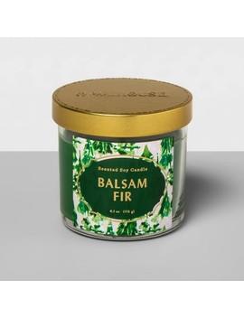 4.1oz Lidded Glass Jar Candle Balsam Fir   Opalhouse™ by Opalhouse