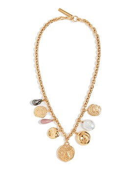 Victoria Charm Necklace by Lizzie Fortunato