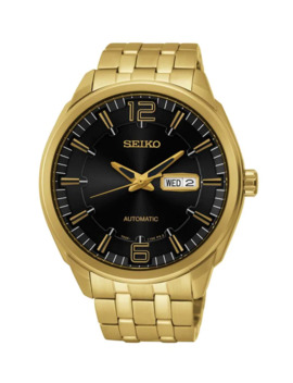 Recraft Series Goldplated Stainless Steel Watch by Seiko