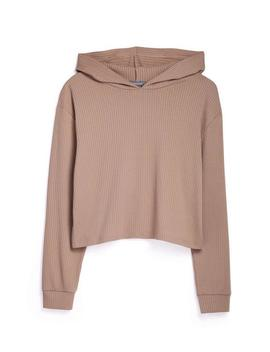 Tan Ribbed Sweatshirt by Primark