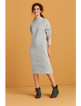 Lofty Funnel Neck Jumper Dress by Next