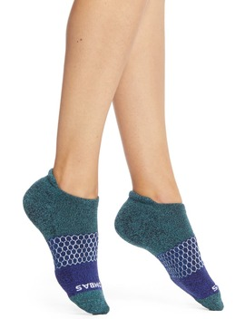 Tri Block Marl Ankle Socks by Bombas