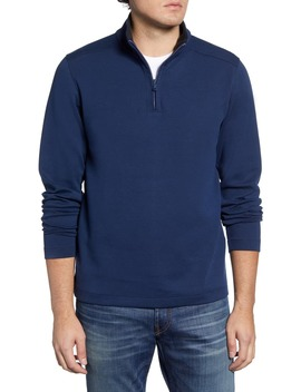 Wear To Work Quarter Zip Pullover by Bonobos