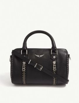 Xs Sunny Grained Leather Shoulder Bag by Zadig&Voltaire