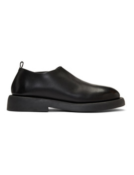 Black Leather Loafers by MarsÈll