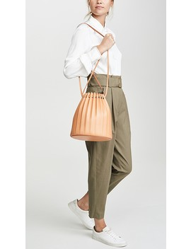 Pleated Bucket by Mansur Gavriel