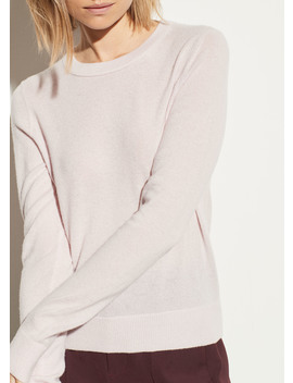 Cashmere Overlay Crew by Vince