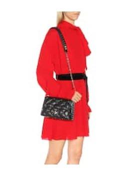 Valentino Garavani Candystud Leather Shoulder Bag by Valentino