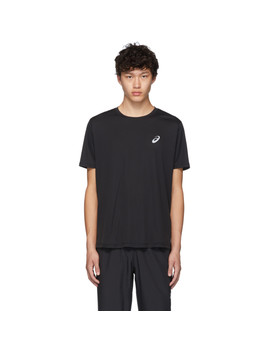 Black Logo T Shirt by Asics