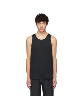 Black Singlet Tank Top by Asics