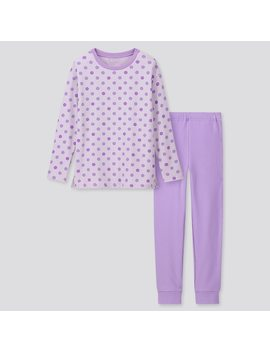 Girls Ultra Stretch Sweat Lounge Set by Uniqlo