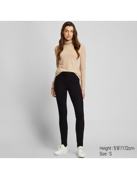 Women Heattech Ultra Stretch Leggings Trousers (20) by Uniqlo