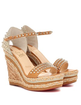 Madmonica 120 Espadrille Sandals by Christian Louboutin