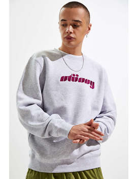Stussy Pretty Applique Crew Neck Sweatshirt  by Stussy