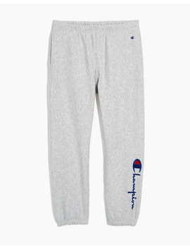 Champion® Big Script Logo Elastic Cuff Sweatpants by Madewell