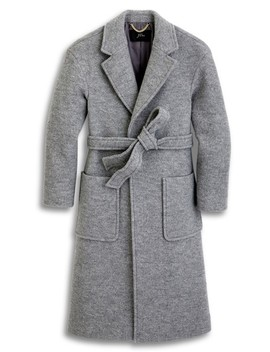 Grey Nwt.  Wrap Coat by J.Crew