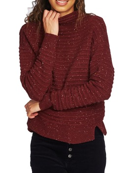 Speckled Ottoman Turtleneck Sweater by Court & Rowe