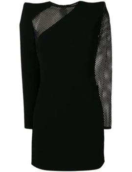 Mesh Panels Mini Dress by Dsquared2