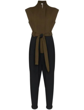 Sleeveless Belted Jumpsuit by Loewe