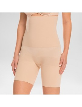 Assets® By Spanx® Women's Remarkable Results High Waist Mid Thigh Shaper by Assets By Spanx