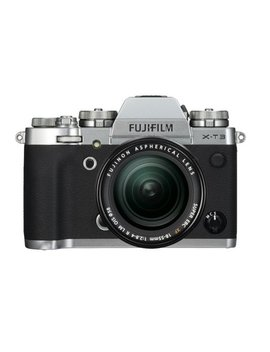 Fujifilm X T3 26.1 Mp Mirrorless Digital Camera With Xf 18 55mm F/2.8 4 R Lm Ois Lens, Silver by Fujifilm