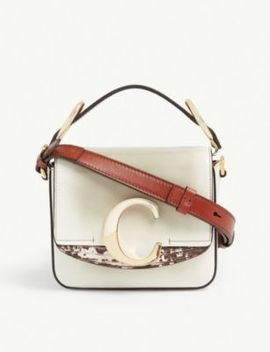 Toaster Mini Leather Shoulder Bag by Chloe