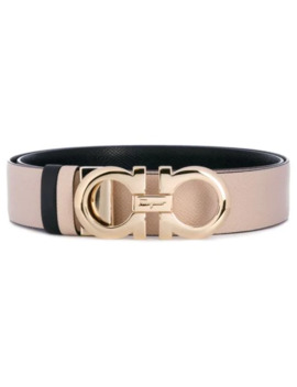 Double Gancio Reversible Belt by Salvatore Ferragamo