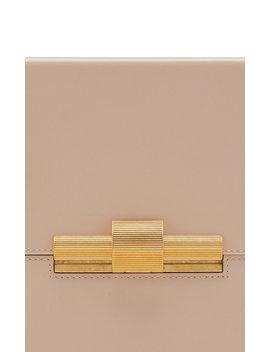 Leather Shoulder Bag by Bottega Veneta