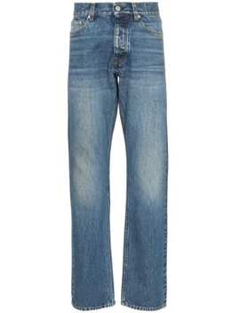 Jeans Med Lige Ben Og Mellemhøj Talje by Sunflower