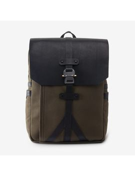 Outpost Twill Flap Backpack By Korchmar by Allen Edmonds