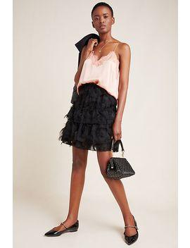 Alida Textured Mini Skirt by Waverly Grey