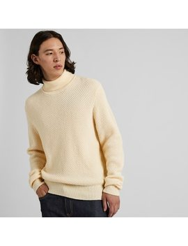 Pull En Maille Tricot StructurÉ Homme (1) by Uniqlo