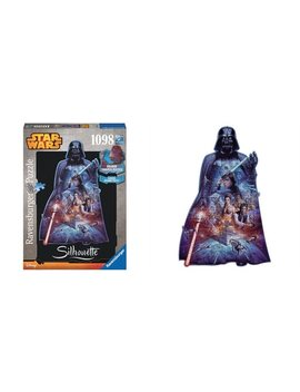 <Div>Darth Vader (1098 Pc Shaped Puzzle)</Div> by Ravensburger