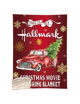 This Is My Hallmark Christmas Movie Watching Blanket Funny Throws Festival Gifts by Unbranded
