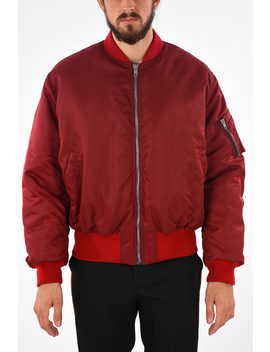 205 W39 Nyc Embroidered Bomber by Calvin Klein