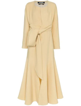 Twist Front Maxi Dress by Jacquemus
